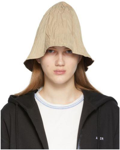 Черная шапка прозрачная с вышивкой Ader Error