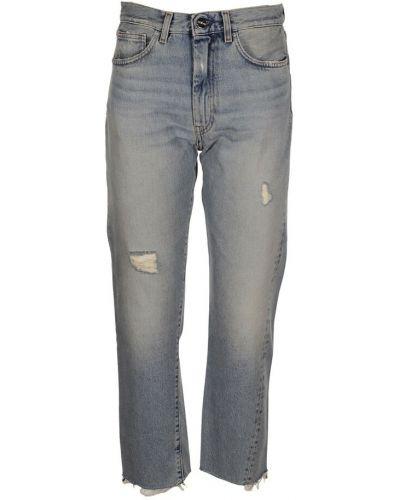 Niebieskie mom jeans Toteme