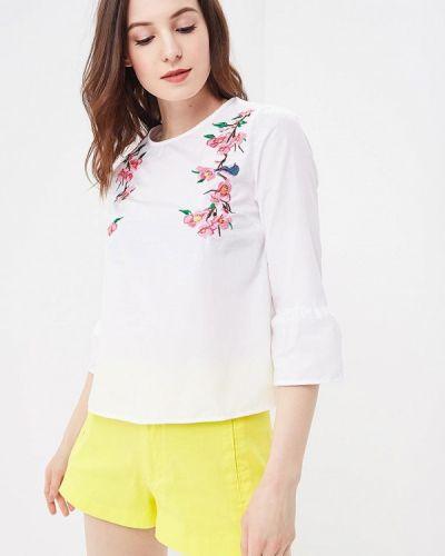 Блузка белая весенний Modis