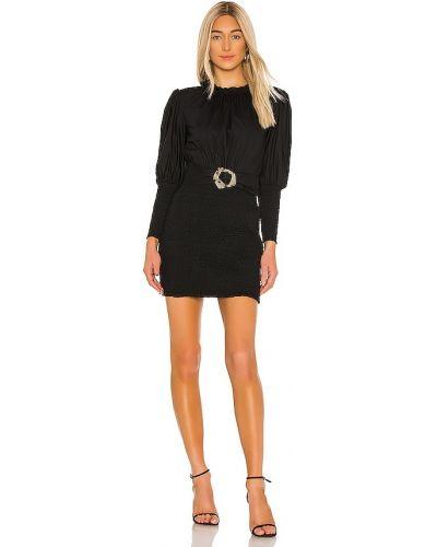 Свободное деловое черное платье Elliatt