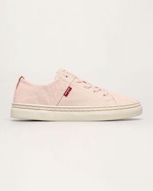 Sneakersy z logo tekstylne Levi's