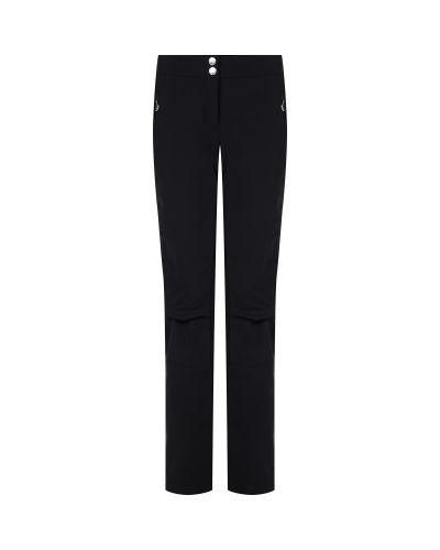 Черные утепленные брюки на молнии Sportalm