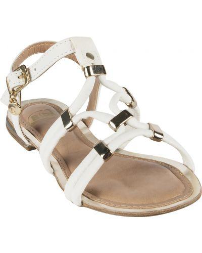 Кожаные босоножки текстильные летние Bibi Shoes