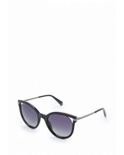 Черные солнцезащитные очки Polaroid