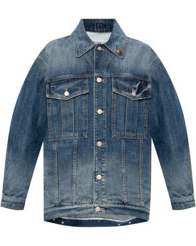 Kurtka jeansowa - niebieska Givenchy