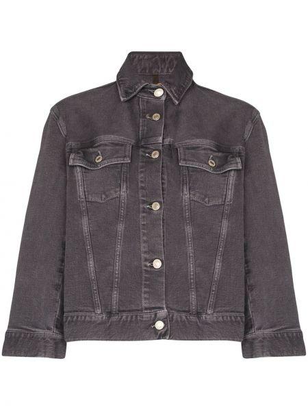 Джинсовая куртка на пуговицах с карманами Jeanerica