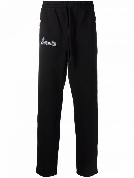 Czarne spodnie z nylonu 3.paradis