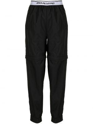Czarne spodnie Ground Zero