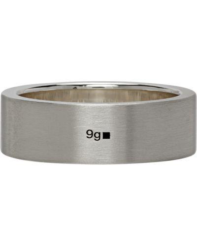 Pierścionek srebrny Le Gramme