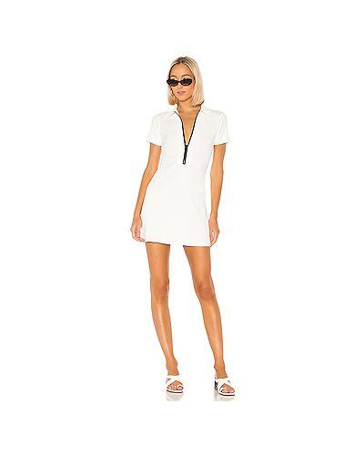Платье мини в полоску в рубчик Solid & Striped