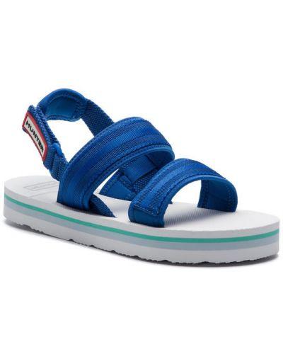 Sandały - niebieskie Hunter