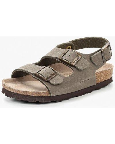 Серые сандалии Genuins