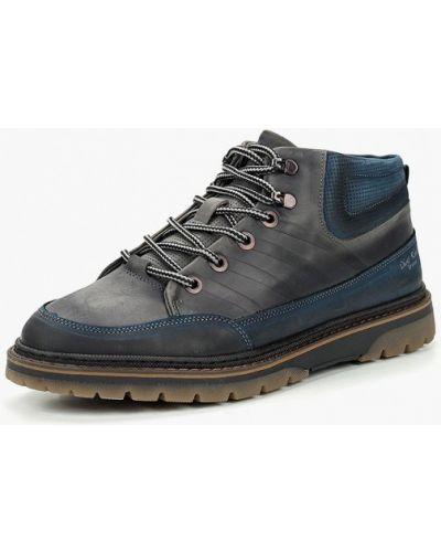 Ботинки осенние из нубука Dino Ricci Trend
