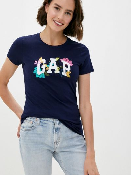Синяя футболка Gap