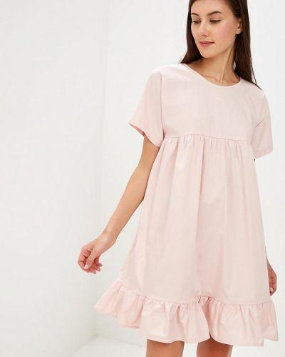Платье розовое итальянский Perfect J