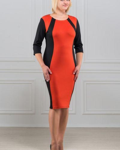 Повседневное трикотажное приталенное платье Rosa Blanco