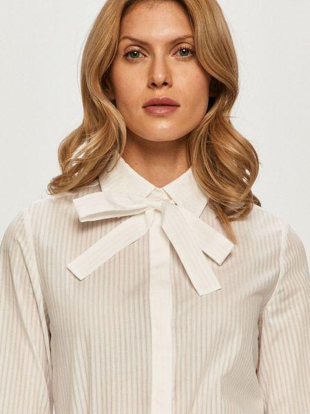 С рукавами белая рубашка с воротником Max&co