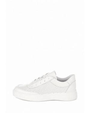 Белые кроссовки из натуральной кожи Bosa