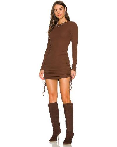 Вечернее платье длинное - коричневое Bcbgeneration
