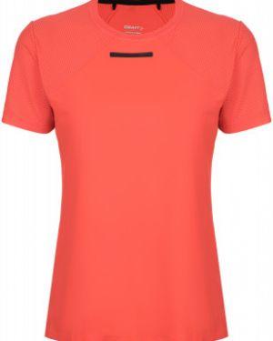 Футбольная прямая спортивная футболка с сеткой для бега Craft