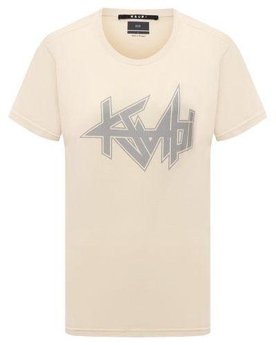 Хлопковая футболка Ksubi