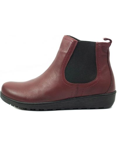 Ботинки - бордовые Sala