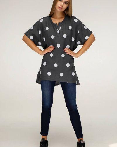 Свободное трикотажное платье свободного кроя Favoritti