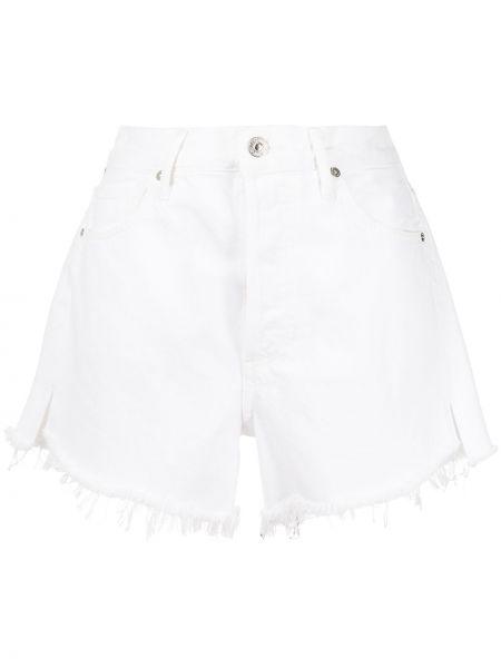 Хлопковые белые шорты с карманами Citizens Of Humanity