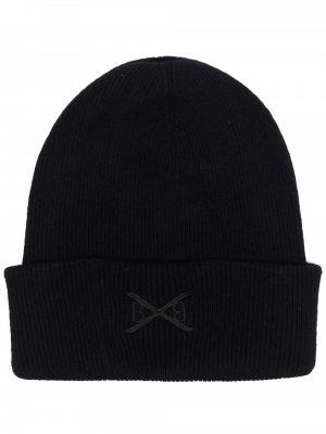 Czarna czapka z haftem Barrie