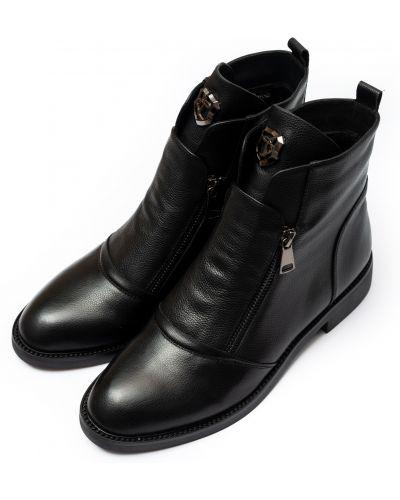 Текстильные ботинки - черные Lady Marcia