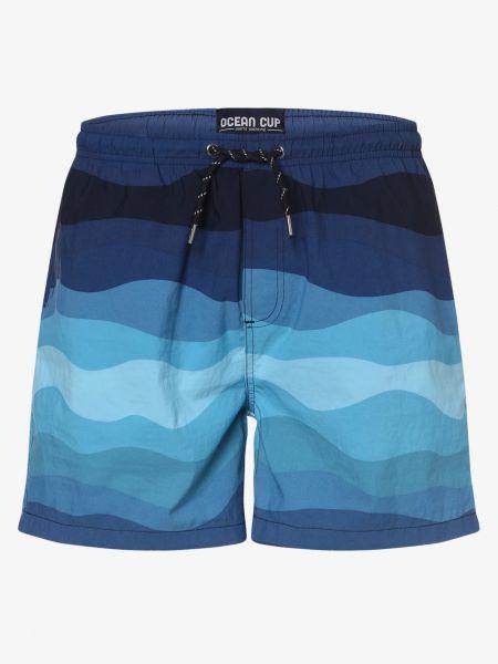 Niebieskie szorty Ocean Cup