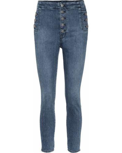 Зауженные джинсы-скинни с пайетками J Brand