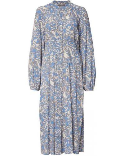 Niebieska sukienka z dekoltem w serek Jake*s Collection