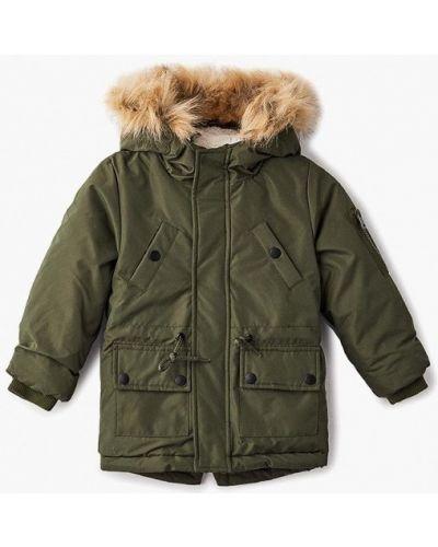 Куртка зеленый хаки Modis