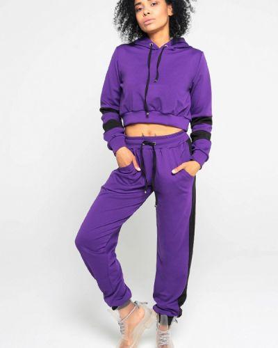 Фиолетовый спортивный костюм Malaeva
