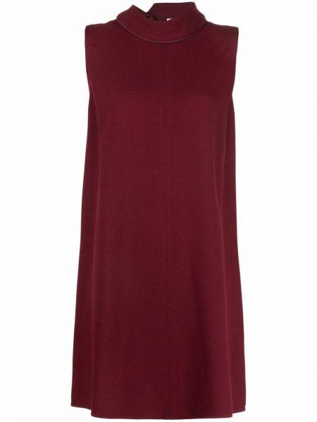 Красное платье мини с вырезом Victoria, Victoria Beckham