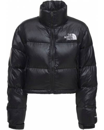 Черная куртка с вышивкой The North Face