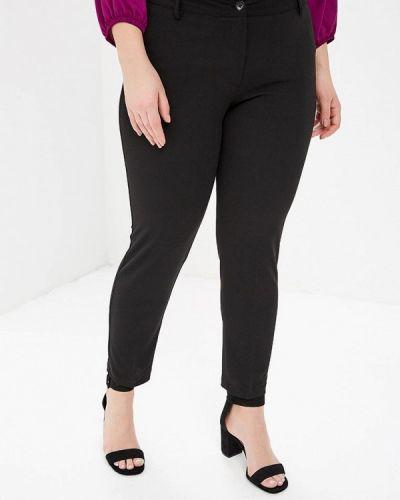 Классические брюки итальянский черные Over