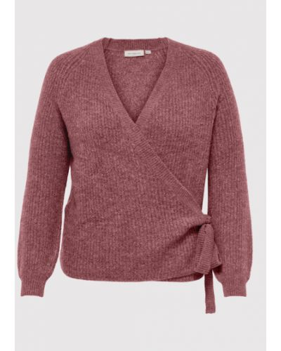 Sweter - fioletowy Only Carmakoma