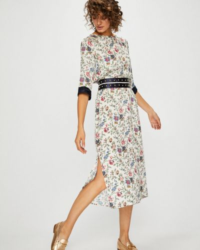 Платье макси прямое с вырезом Silvian Heach
