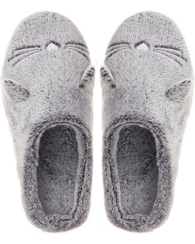 Теплые тапочки - серые Naviale