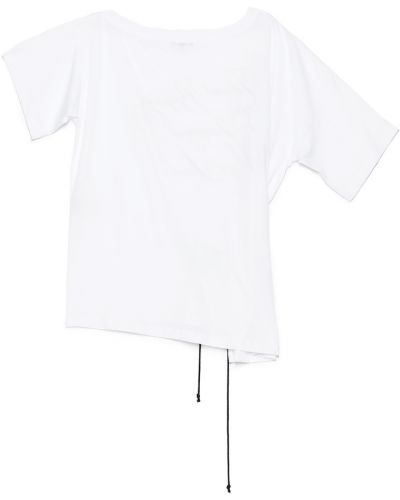 Biały t-shirt Ann Demeulemeester