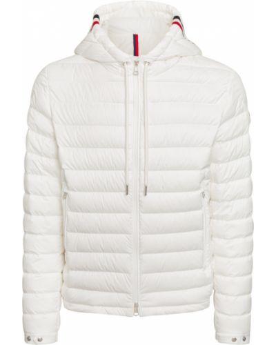 Biała kurtka Moncler