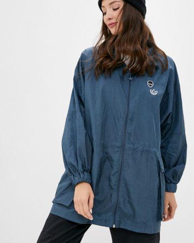 Синяя ветровка Adidas Originals
