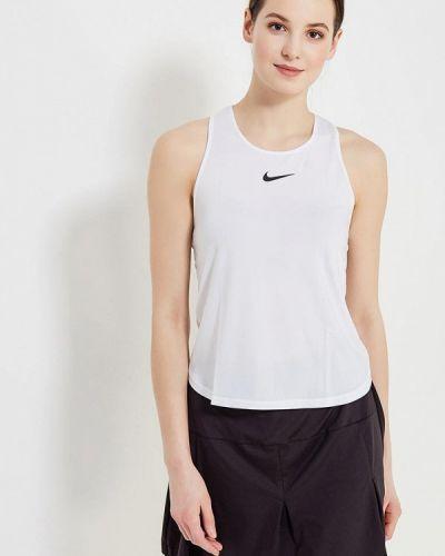 Белая майка спортивная Nike