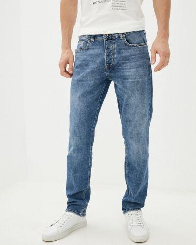 Синие зимние джинсы Mexx