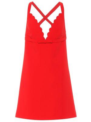Вечернее платье с декольте Miu Miu