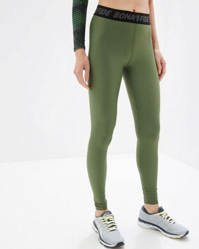 Леггинсы зеленый хаки Bona Fide