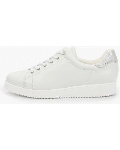 Кожаные белые кроссовки Pazolini