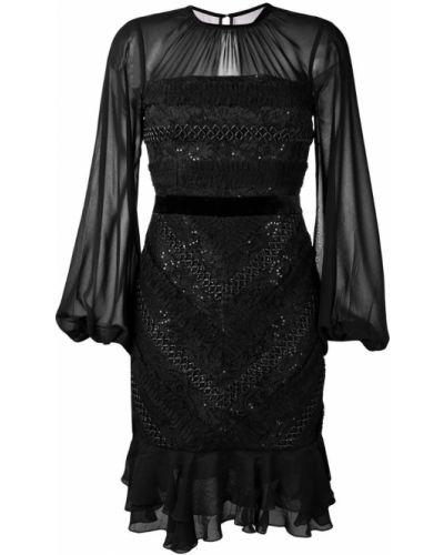 Платье черное Three Floor